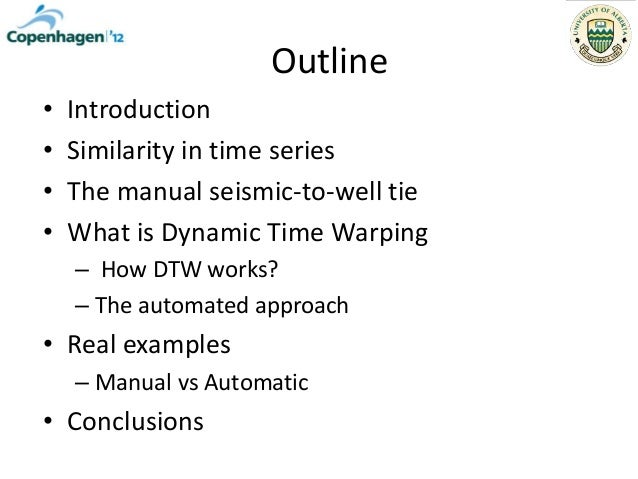 Automated seismic-to-well ties? Slide 2