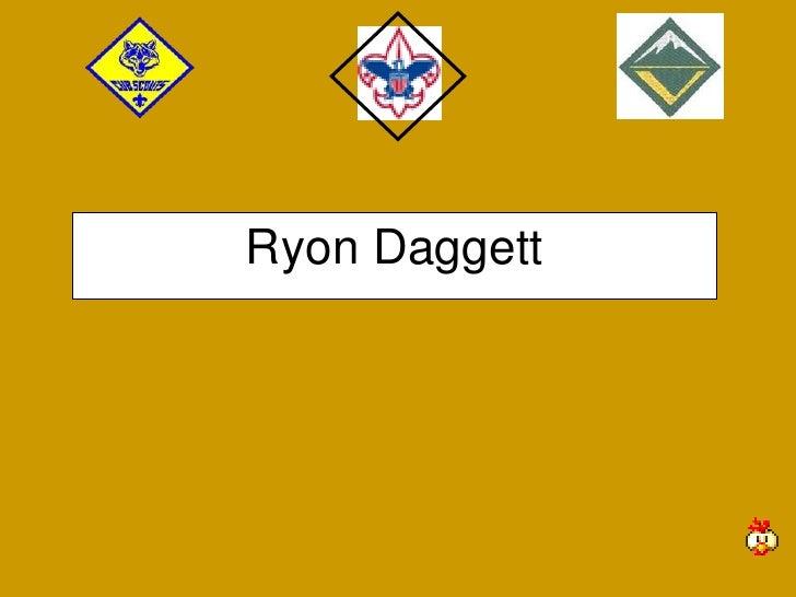 Ryon Daggett<br />