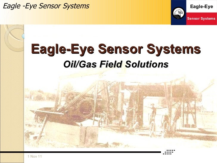 Eagle-Eye Sensor Systems Oil/Gas Field Solutions