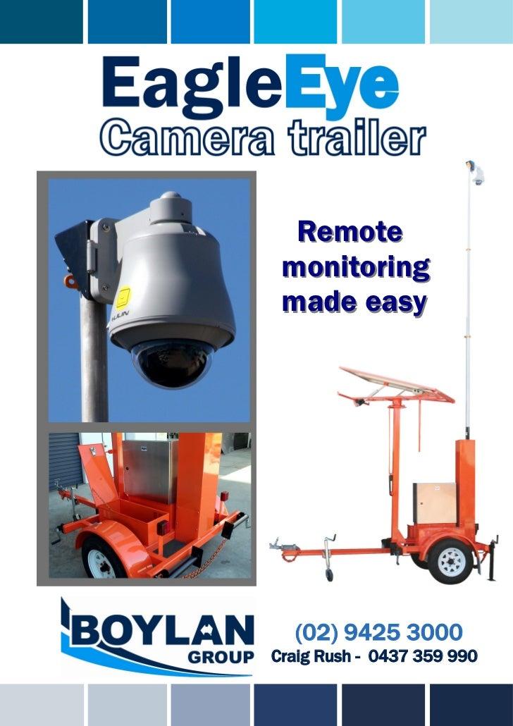 Remote monitoring made easy  (02) 9425 3000Craig Rush - 0437 359 990