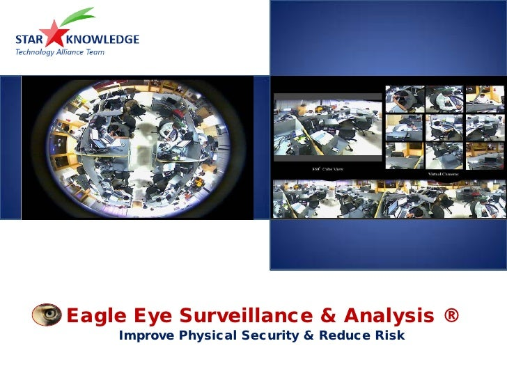 Eagle Eye Surveillance & Analysis ®     Improve Physical Security & Reduce Risk