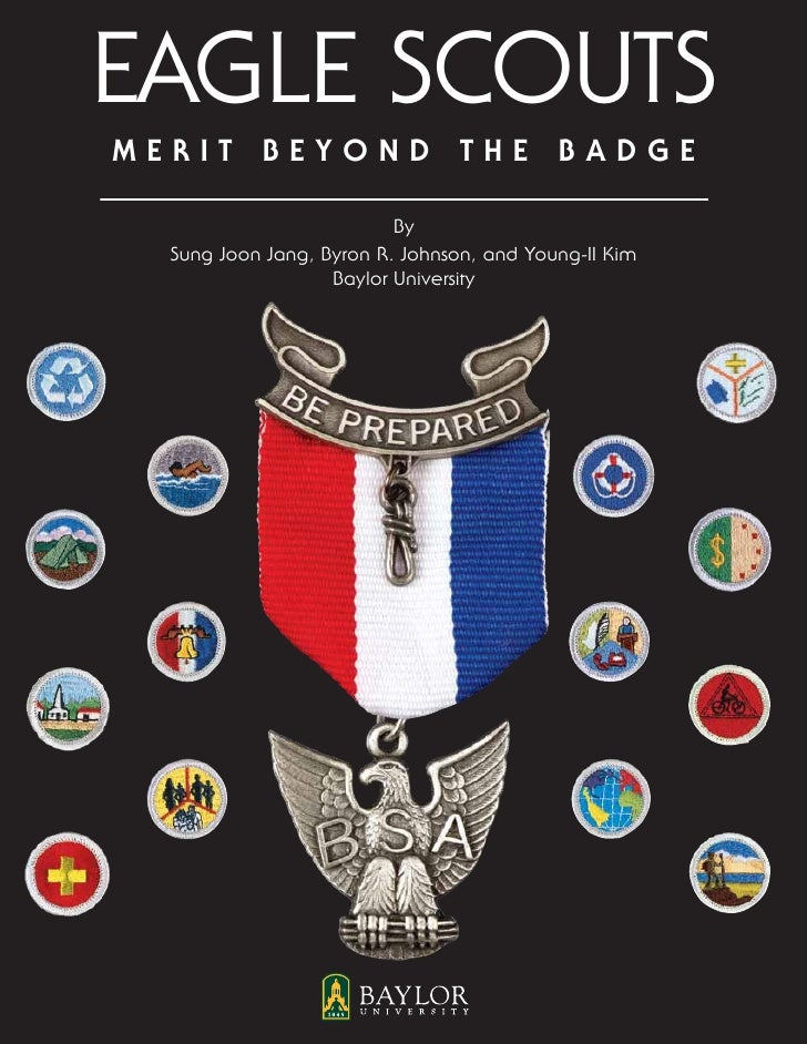 Eagle ScoutsMerit Beyond the Badge                          By  Sung Joon Jang, Byron R. Johnson, and Young-II Kim        ...