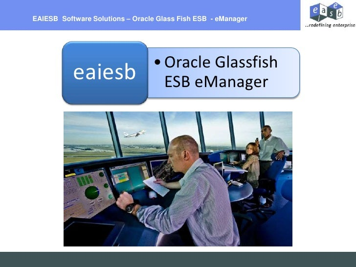EAIESB  Software Solutions – Oracle Glass Fish ESB  - eManager<br />