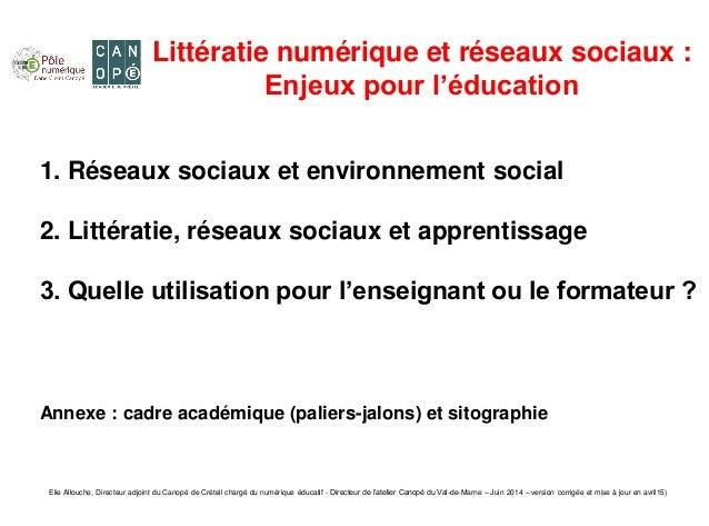 Elie Allouche, Directeur adjoint du Canopé de Créteil chargé du numérique éducatif - Directeur de l'atelier Canopé du Val-...