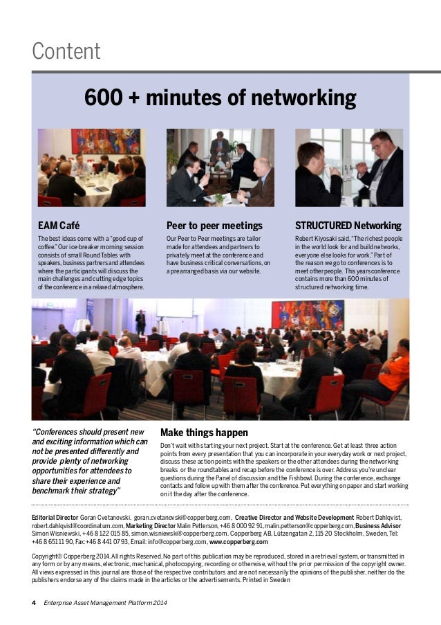 """Content  600 + minutes of networking  STRUCTURED Networking  Robert Kiyosaki said, """"The richest people  in the world look ..."""