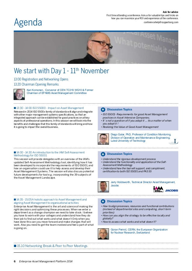 Agenda  We start with Day 1 - 11th November  Ask for advice  First time attending a conference. Ask us for valuable tips a...