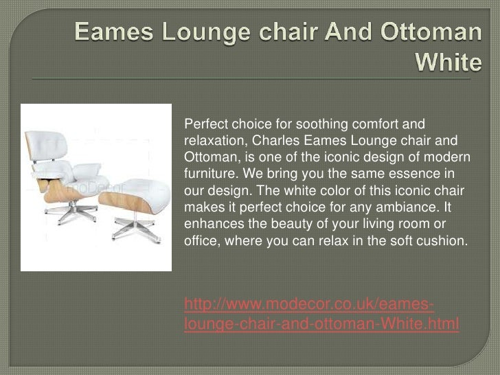 Astonishing Eames Lounge Chair Alphanode Cool Chair Designs And Ideas Alphanodeonline