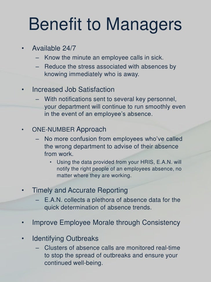 employees absence