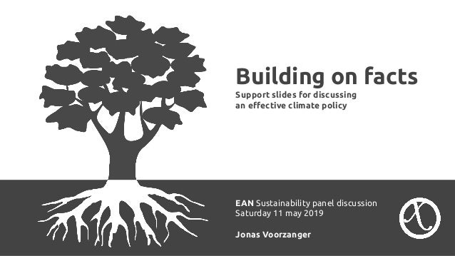 Building on facts Support slides for discussing an effective climate policy EAN Sustainability panel discussion Saturday 11...