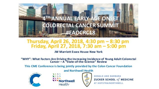 4th Annual Early Age Onset Colorectal Cancer Summit Transforming Fam
