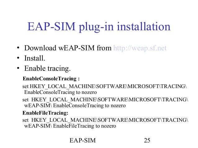 Eap sim