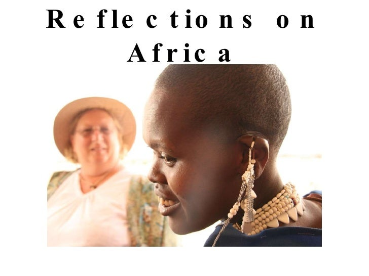 Reflections on Africa