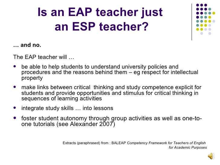 teaching critical thinking in eap courses in australia Why public schools don't teach critical thinking -- part 1  who would rather teach their courses in depth in order to give students an informed understanding of the issues involved, the.