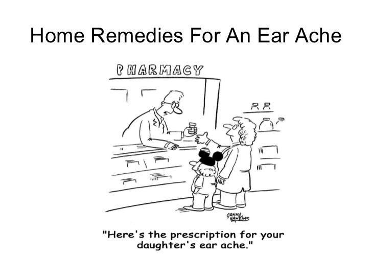 Home Remedies For An Ear Ache
