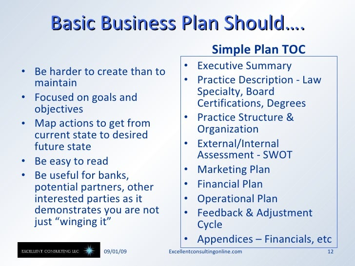 sole practitioner business planning tips