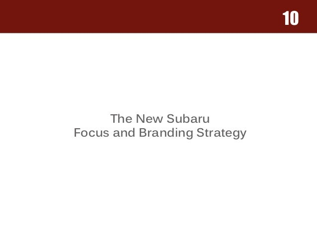 Jim earley and earleygraphics subaru redesign 10 the new subaru focus and branding strategy fandeluxe Images