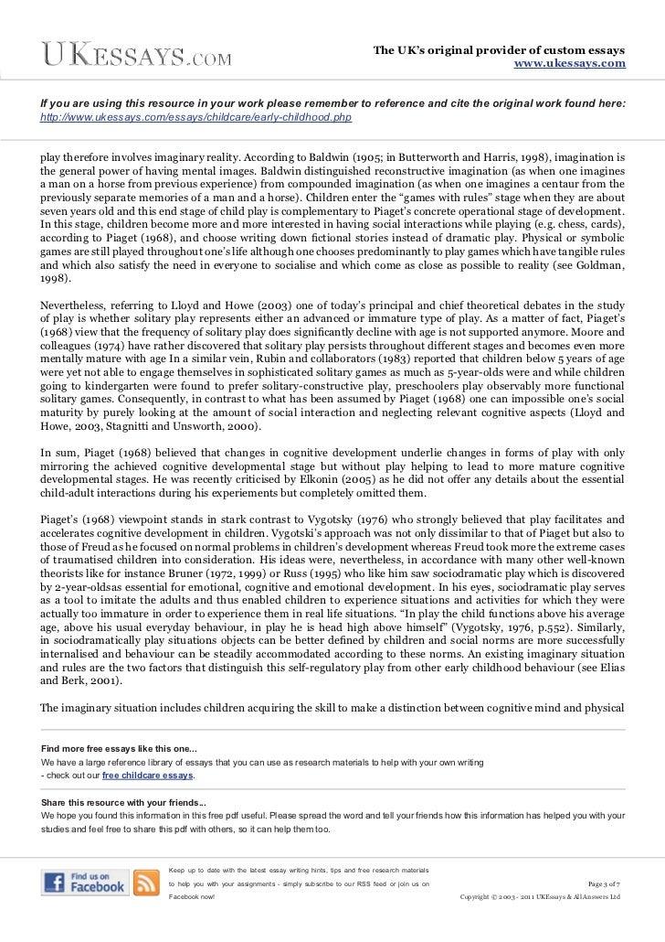 Modern web services essay analysis