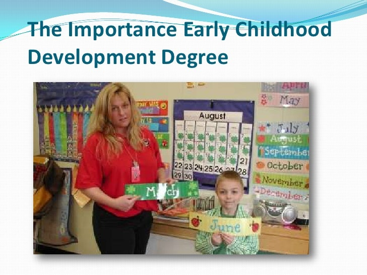 importance of early childhood education pdf