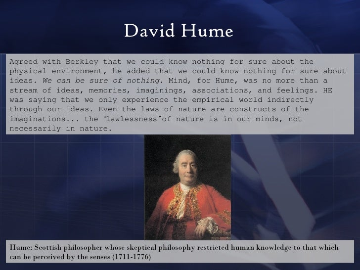 Hume By Nature We Can Call Them