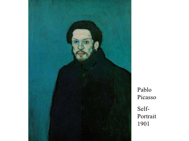 1901 Pablo Picasso Self-Portrait 1901