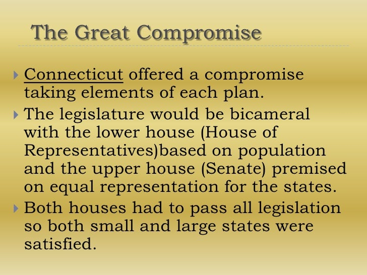The Effects of the Great Compromise