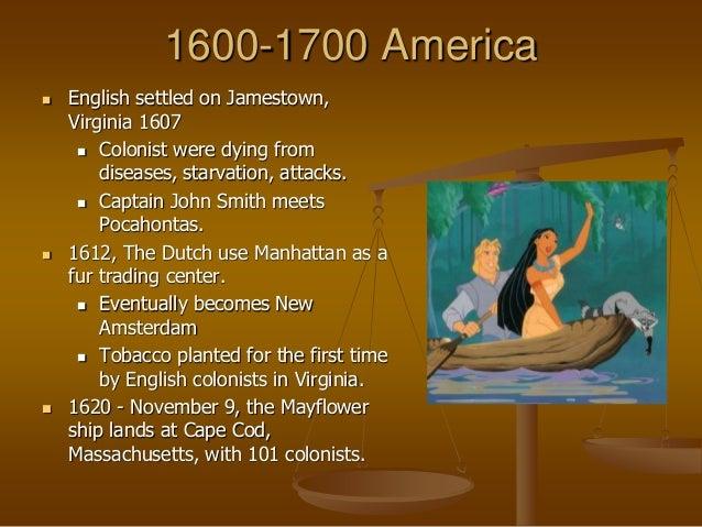 American litterature 1700