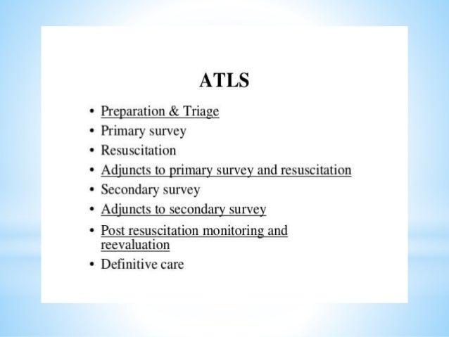 *Prepration; an effective prepration needs team work. A.prehospital phase. o receiving hospital is notified first. oReach ...