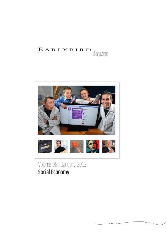 Volume 08   January 2012 Social Economy