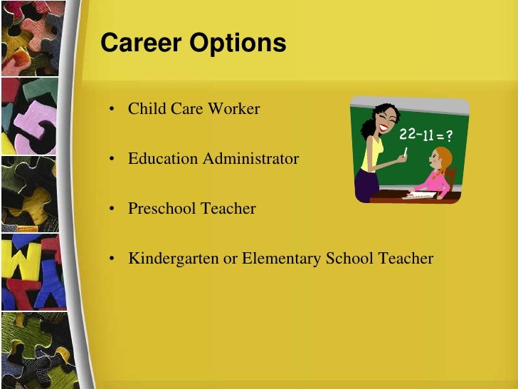 a career analysis early childhood educator Expand your expertise and open up new career opportunities with california university of pennsylvania's early childhood education master's degree with certification.