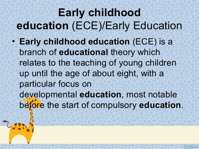 technology in early education There have been studies conducted on bringing technology to early childhood education there has been seen benefits on introducing technology.