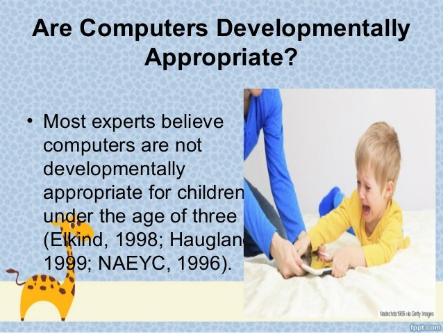 Educational Technology At Early Childhood Education