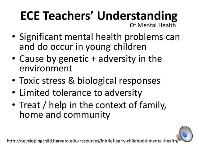 Inbrief Early Childhood Mental Health >> Early Childhood Sdu 590721 Last