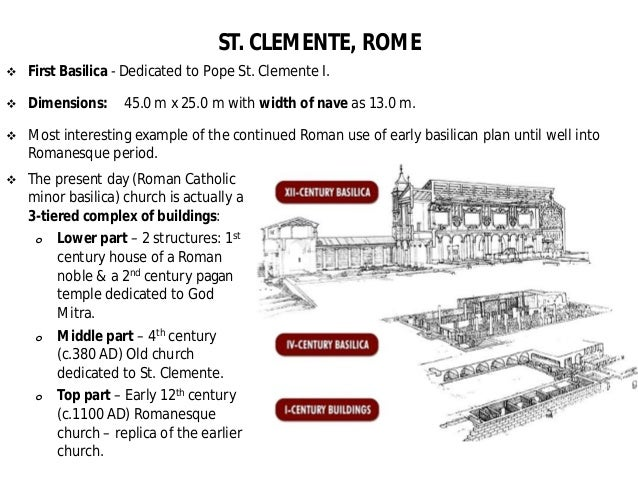 roman and early christian architecture