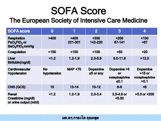 Sofa Score Calculator Icu 28 Images Score Sofa Sepsis