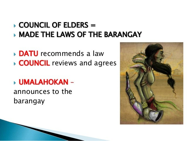 hispanic period The barangay during pre-hispanic to spanish era friday, march 2, 2012 during the pre-colonial period, it was the dominant pattern of organization of the indigenous communities the name barangay originated from balangay, a malay word for sailboat.