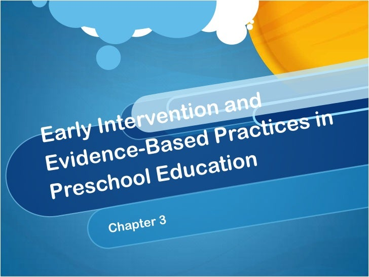 EARLY CHILDHOOD YEARSWhat do you already know about       special education   for infants and toddlers?        Talk in you...