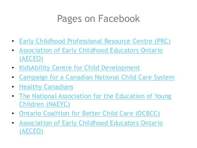 Social Media In Early Childhood Educatione Literacy And Professional