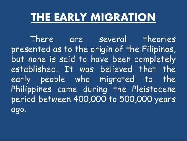 the early filipinos Islam in the philippines islam is one of the oldest organized religions to be established in the philippines.
