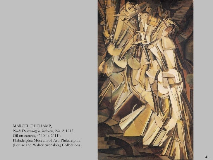Marcel duchamp nude descending a staircase — img 13