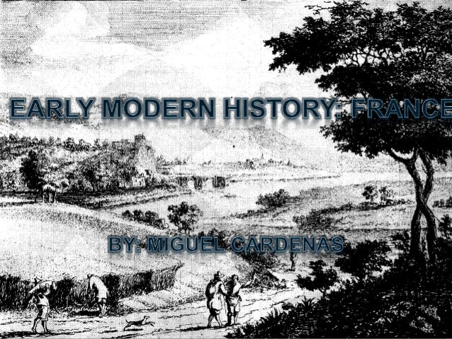 EARLY MODERN EUROPE • Early modern Europe is the term that historians used to refer to a period in the history of Western ...