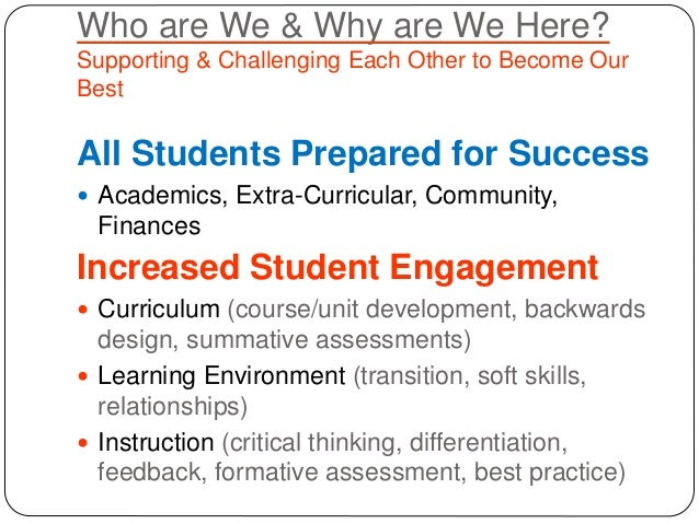 Early release october 2014 engagement & curriculum Slide 3