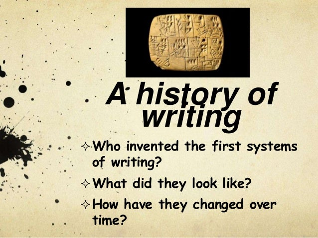 History of the english language essay