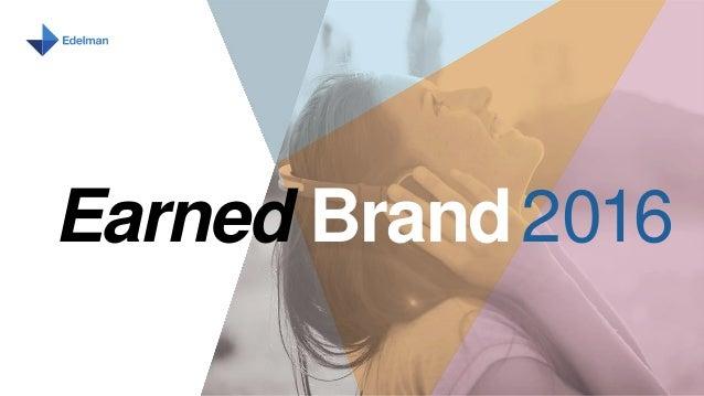 Earned Brand2016