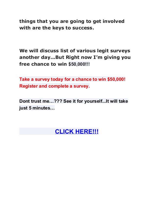 how to get money doing surveys