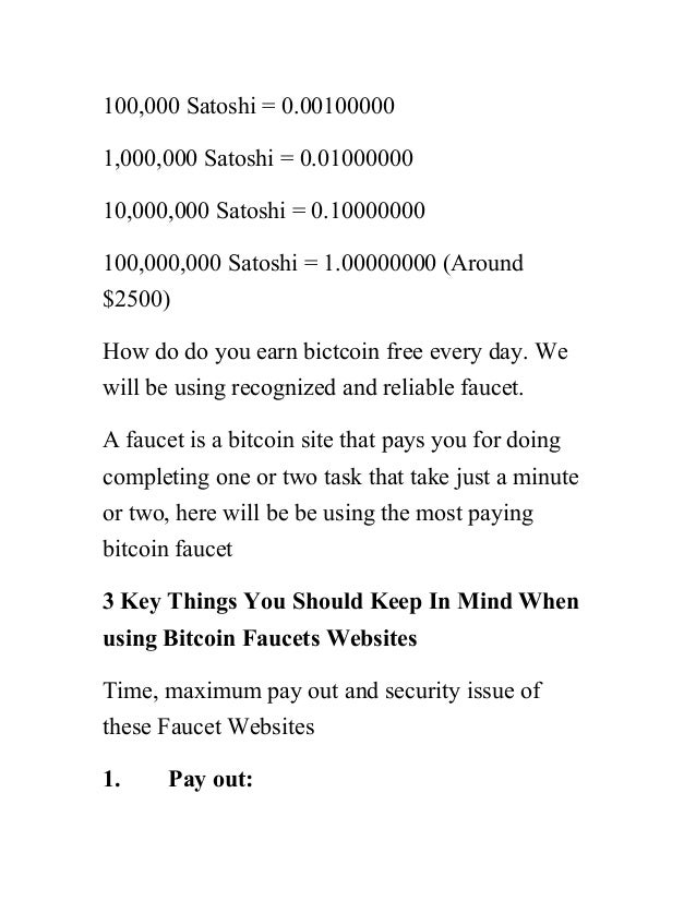 Earn thousands of bitcoin monthly with zero dollars