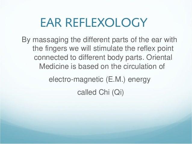Ear reflexology self-massage Slide 2