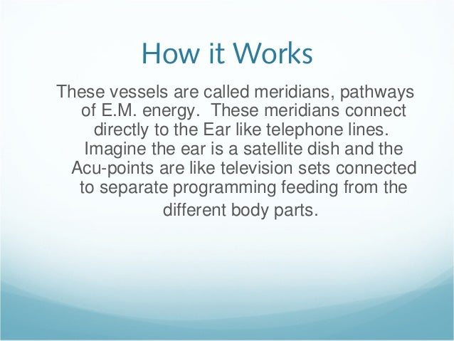 Ear reflexology self-massage Slide 3