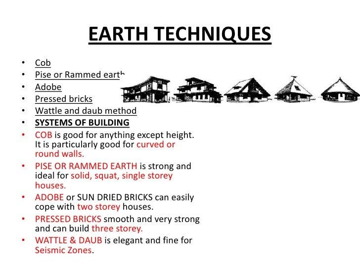 Eart Soil As Building Material