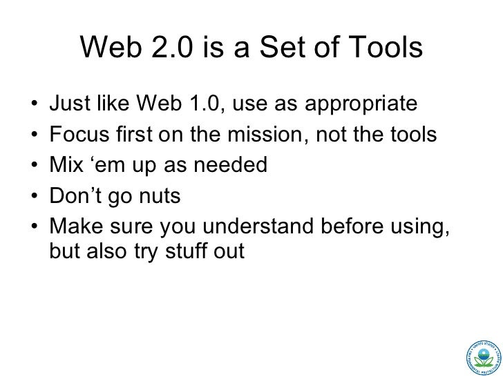 Mixing Web 1.0 and 2.0 for Earth Day Slide 2