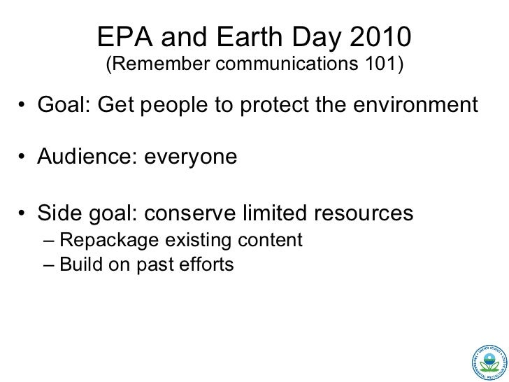 Mixing Web 1.0 and 2.0 for Earth Day Slide 3